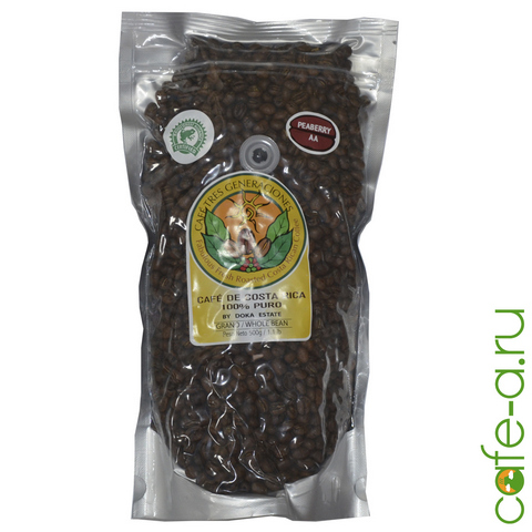 Кофе в зернах Estate Peaberry (Caracolillo)